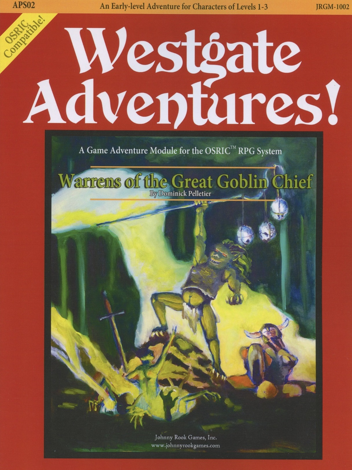 Cover of APS02 Warrens of the Great Goblin Chief